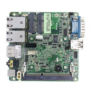 Jetway JNU93-2930 NU93 NUC Motherboard, Intel Bay Trail-M N2930 SoC Processor, DDR3L 1333, Intel HD Graphics, Gigabit Ethernet, SATA 3Gb/s, HDMI, USB 3.0.