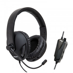 Syba COBRA510 NC2 5.1 Surround Sound Stereo Headset OG-AUD63065 with Boom Microphone