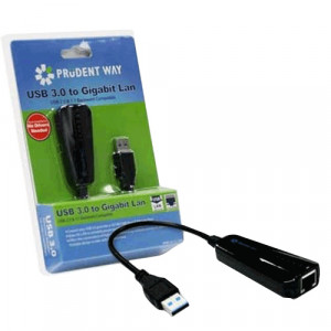 Prudent Way PWI-U3-GL1000 Driverless USB 3.0 Realtek Adapter