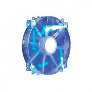 Cooler Master MegaFlow 200mm Blue LED Sleeve Bearing 12V DC Fan