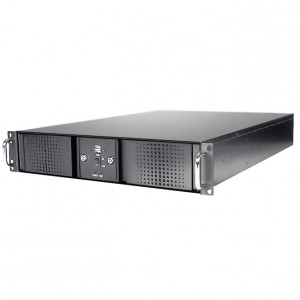 Athena Power RM-DD2U24E36HT608 Steel 2U Rackmount Server Case, w/ 600W 2U Power Supply, 2x SAS/SATA