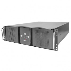 Athena Power RM-DD3U36E38HT708 Steel 3U Rackmount Server Case, w/ 700W 3U Power Supply, 2x SAS/SATA