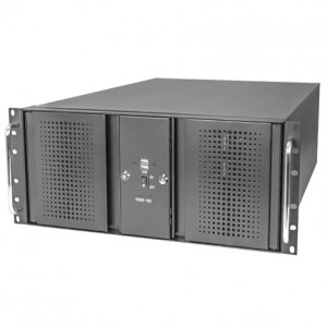Athena Power RM-DD4U48E312HT808 Steel 4U Rackmount Server Case, 800W PS2 Power Supply, w/ 4x SAS/SATA Multi-HDD Hot Swap Module.