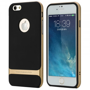 Rock Royce Series royce-iphone-gd TPU PC Shockproof Protection Case Cover for iPhone 6 (4.7in)