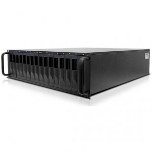 Enhance UltraStor RS16 FS 4GB Fibre Channel 16 Bays 3U Rackmount RAID Storage, for SAS / SATA Disk Drives.