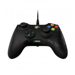 Razer Sabertooth Elite Gaming Controller for Xbox 360 RZ06-00890100-R3U1, Black