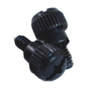 Alpha and Omega Metal Thumb Screws SCREW-TS-BK