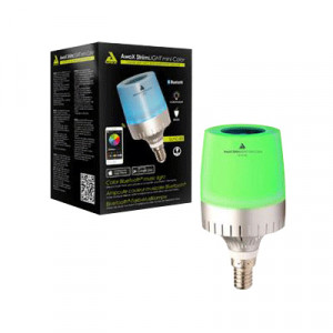 AwoX SLmC-B3 StriimLIGHT Mini Color Bluetooth LED Music Light Bulb