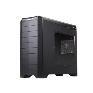 Black SilverStone Full Tower Computer Case SST-RV02B-EW-USB3.0