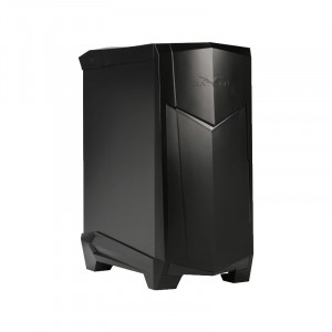 SilverStone SST-RV05B RAVEN Series ATX Mid Tower Computer Case, 1 x Slim Slot-loading Optical Drive, Front USB3.0, Plastic Outer Shell + Steel Body, Black