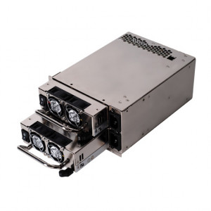 Silver SilverStone 550W + 550W PS/2 Redundant Power Supply ST55GF