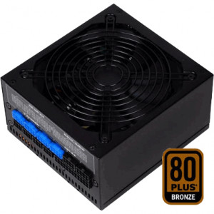 Black SilverStone 600W ATX12V / EPS12V Modular Computer Power Supply ST60F-P