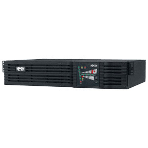 Tripp Lite SU2200RTXL2UA 2200 VA SmartOnline Double-Conversion 2U Rack/Tower UPS, 110/120V NEMA Outlets.
