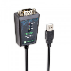 Syba SY-ADA15044 IO CREST USB to Serial (DB-9) RS-232 Adapter.