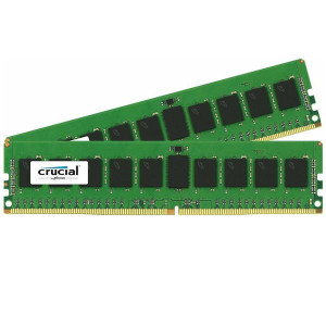 Crucial CT2K8G4RFD8213 16GB (2x8GB) 288-Pin DDR4 Dual Channel Server Memory, PC4-17000 (2133MHz), 1.2V, CL15, ECC, Registered, Dual Ranked, x8 Based.