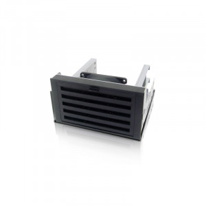 iStarUSA TC-ISTORM7 2x5.25in to 3x3.5in Internal Mounting Cooling Kit with Removable Filter.
