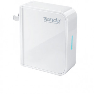 Tenda 2.4Ghz 150Mbps Travel Wireless N Router