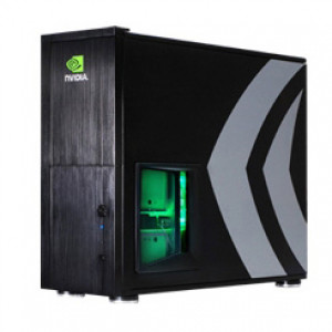 Black SilverStone NVIDIA Edition Aluminum ATX Full Tower Computer Case TJ10B-WNV, w/ Side Window and 120mm Fans.