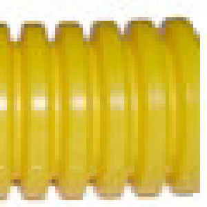 Split Loom - Yellow 1/4-in, Per Foot. - CaseEtc