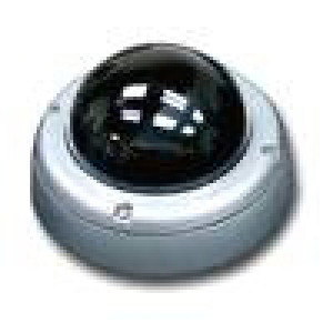 CCTV 1/3in SuperHAD CCD DSP Color Dome Camera, Vandal Proof, Weatherproof Armor, w/ 3.6mm Lens
