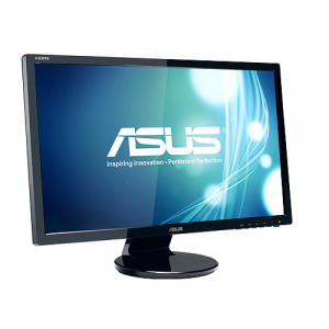 Black ASUS 24in Full HD Computer LED Monitor VE248H