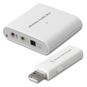 GWC WA2300 2.4GHz USB Wireless Audio Adapter, Low Power Consumption and Low Audio Noise