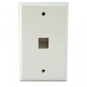 Single Wall Plate, Color: Beige