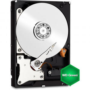 Western Digital Caviar Green 3.5in 500GB SATA 6Gb/s Internal Hard Drive WD5000AZRX, IntelliPower, 64MB Cache, OEM.