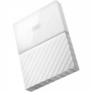 WD My Passport WDBYFT0030BWT-WESN 3TB USB 3.0 Secure Portable Hard Drive