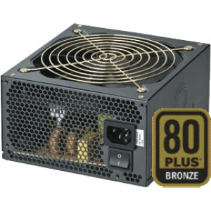 Black CoolMax ZP Series 750W ATX 12V V2.3 and EPS 12V V2.92 Computer Power Supply ZP-750B
