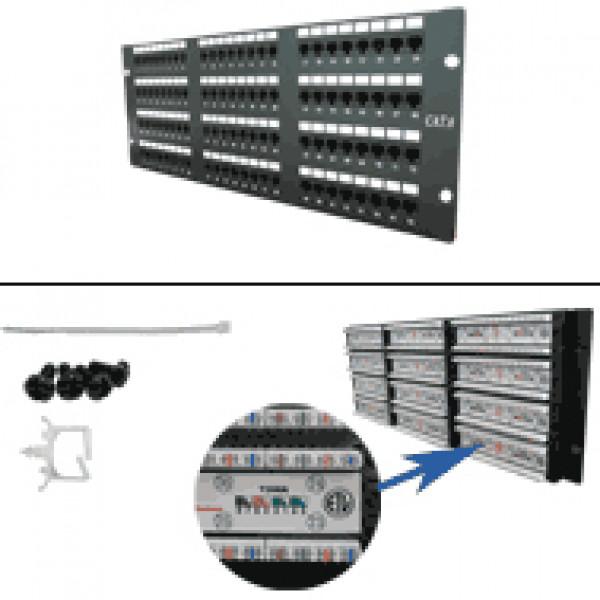 CAT6 96-Port 110-IDC Patch Panel