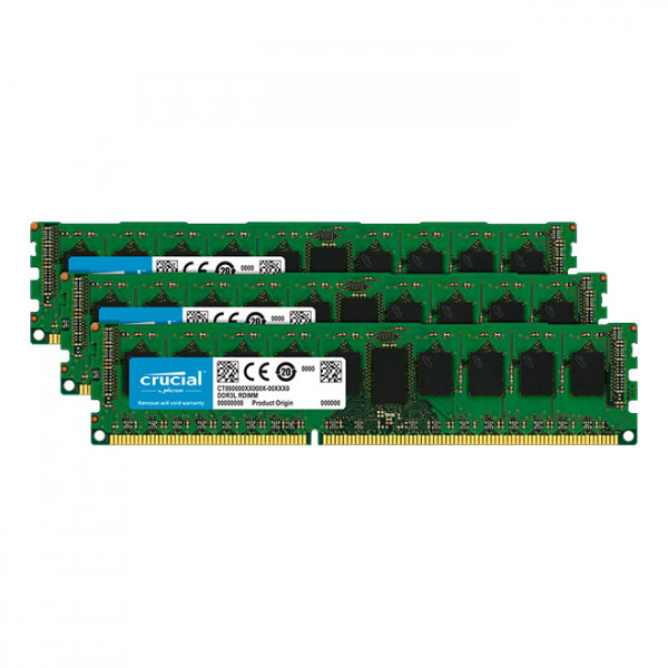 Crucial CT3KIT51272BD160BJ 12GB DDR3 Desktop Memory