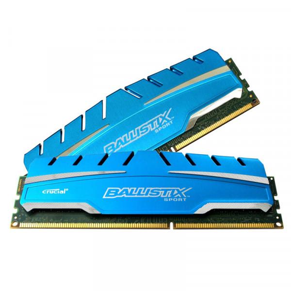 Ballistix Sport 8GB Kit 2 x 4GB DDR3-1866 PC3-14900 UDIMM BLS2K4G3D18ADS3