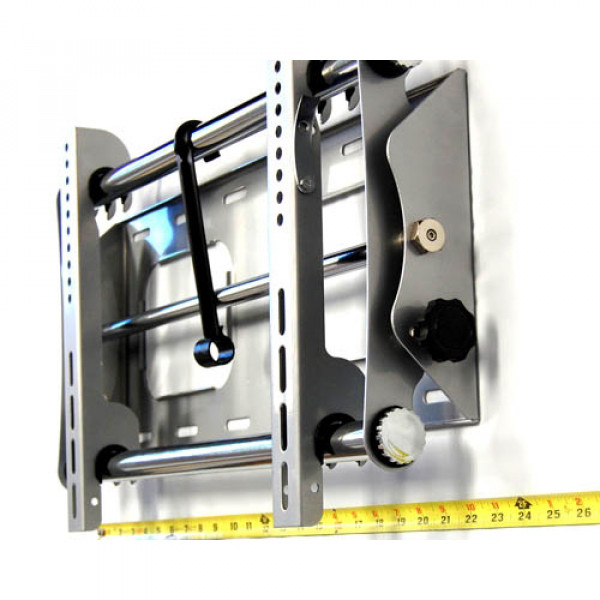 Silver Bytecc Low-Profile 23in to 37in Tilting LCD/Plasma Wall Mount
