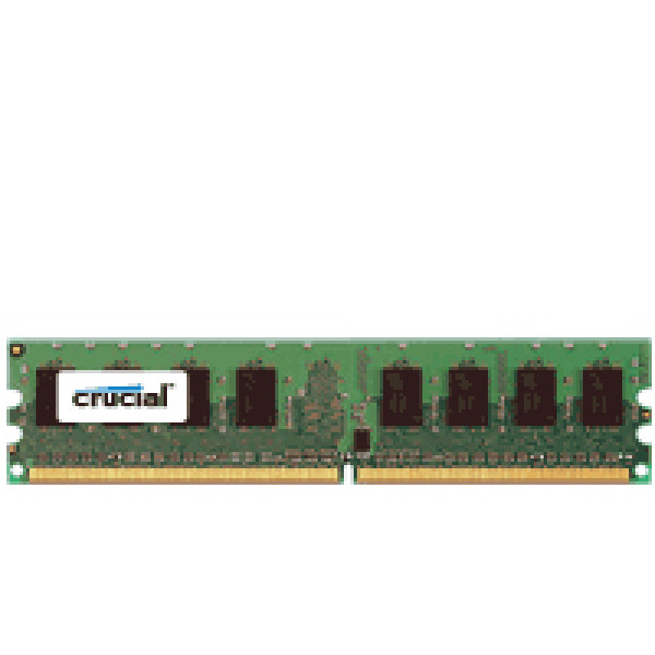 Crucial 4GB DDR2 PC2-5300 240-Pin DIMM Server Memory CT51272AB667