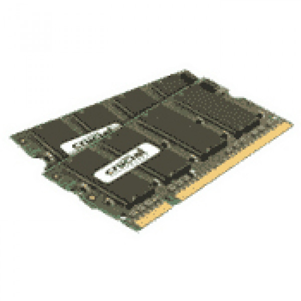 Crucial 1GB kit (512MBx2) DDR2 667 (PC2-5300) 200-pin Memory Upgrades for Dell Inspiron E1505 Laptop/Notebook