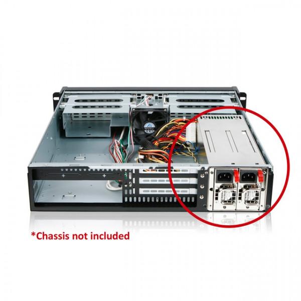 ETA 5/22 iStarUSA XEAL IS-460R2UP 2U 460W Redundant Power Supply