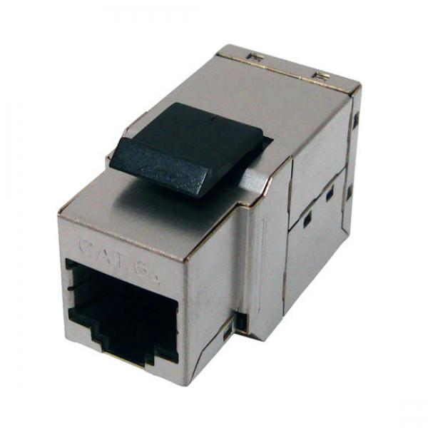 CAT6A Slim K62A-3291-CJ-S MIG+ Shielded Snap-In Inline Coupler