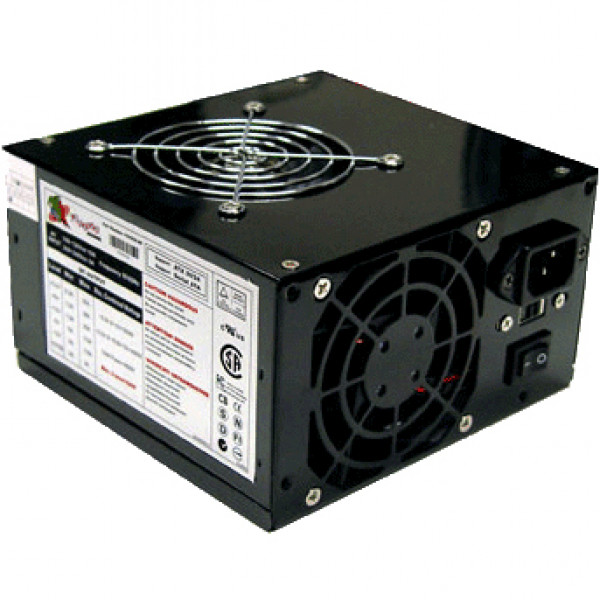 Black Logisys 550W Power Supply PS550A-BK