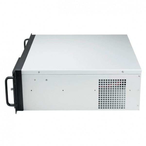 Athena Power RM-3UD370S608 Steel 3U Rackmount Server Case (Black)