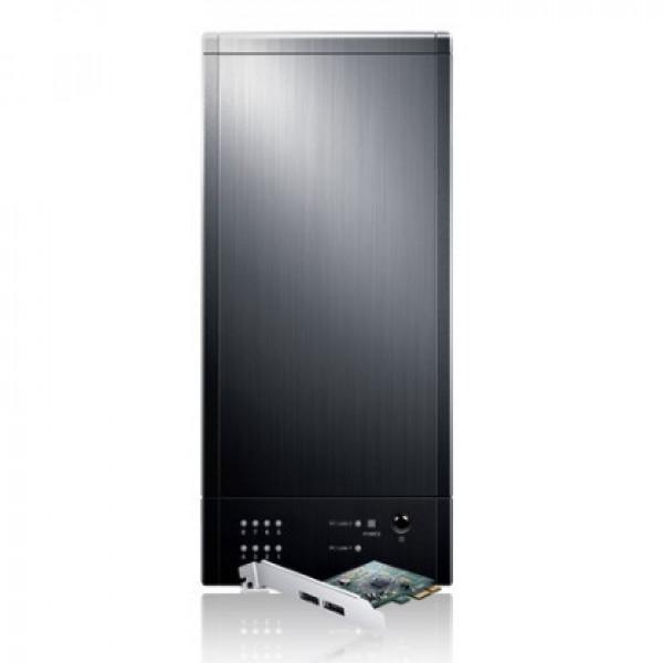 Black Sans Digital TowerRAID TR8M+B 8-Bay eSATA RAID 0/1/10/5/JBOD Performance Tower