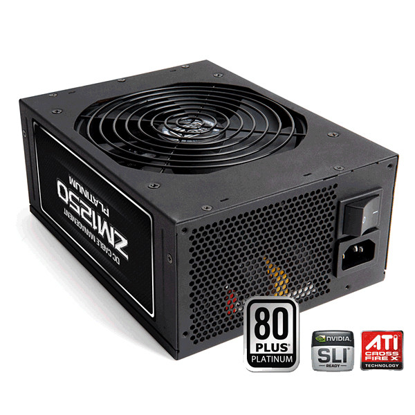Zalman ZM1250 Platinum Extreme Efficiency 1250W ATX12V Modular Computer Power Supply