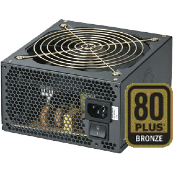 Black CoolMax ZP Series 850W ATX 12V V2.3 and EPS 12V V2.92 Computer Power Supply ZP-850B