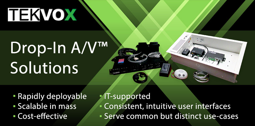 TekVox Drop-In AV Solutions